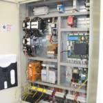 Dettaglio su impianto elettrico ascensore realizzato a Verbania - 2