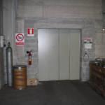 Dettaglio su ingresso ascensore realizzato a Verbania - 3