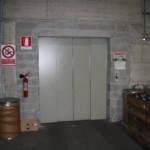 Dettaglio su ingresso ascensore realizzato a Verbania - 2