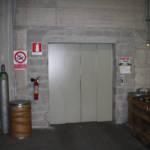 Dettaglio su ingresso ascensore realizzato a Verbania - 1