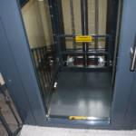 Dettaglio su tetto ascensore realizzato a Milano - 1