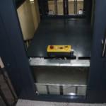 Dettaglio su comandi ascensore realizzato a Milano - 1