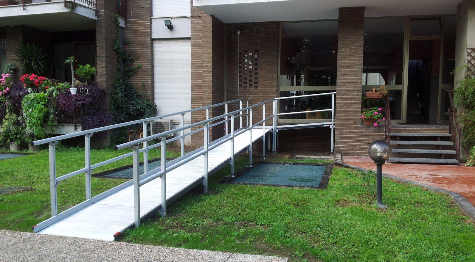 Rampe per abbattimento barriere architettoniche
