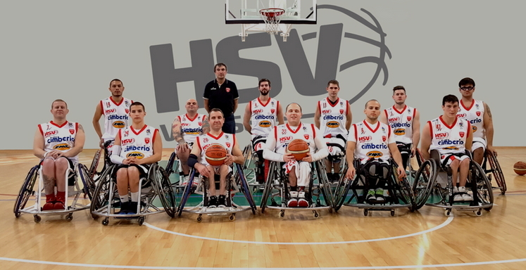 La squadra di pallacanestro in carrozzina HSV Varese